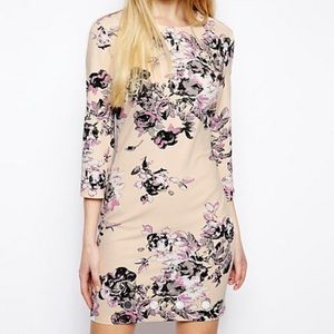 ASOS Floral Shift Dress Size 6